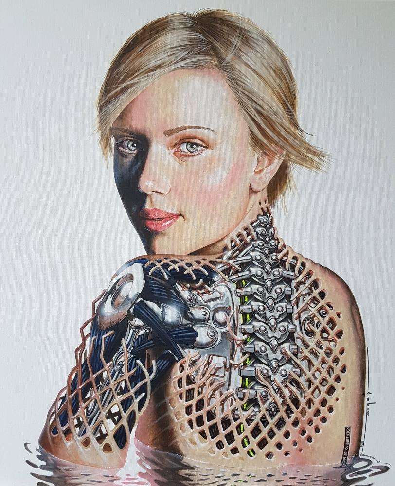 Scarlett Johansson by alainmetisse